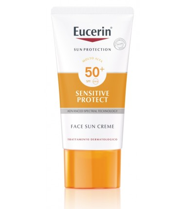 Sensitive Protect Face Sun Creme SPF 50+