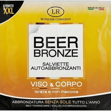 Beer Bronze salviette autoabbronzanti