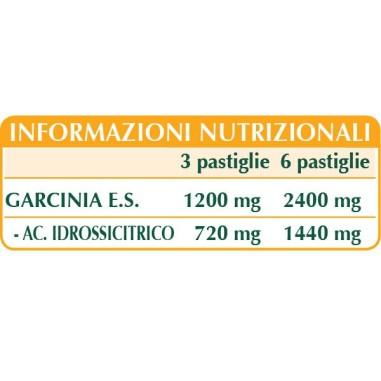 GARCINIA CAMBOGIA ESTRATTO TITOLATO 180 pastiglie