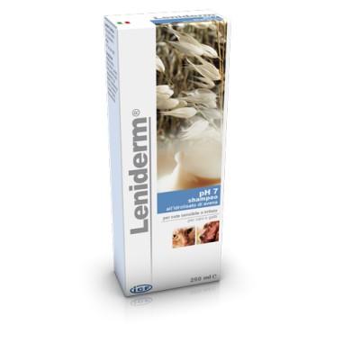 Leniderm shampoo all'idrolisato di avena per cute sensibile o irritata