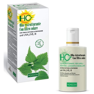 HC+ OLIO RISTRUTTURANTE CON FILTRO SOLARE