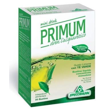 Primum Dren Mini Drink - Gusto Limone Con Te\' Verde