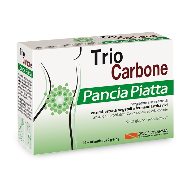 Trio Carbone Pancia Piatta