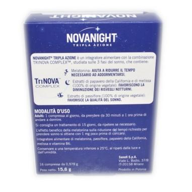 Novanight 16 Compresse