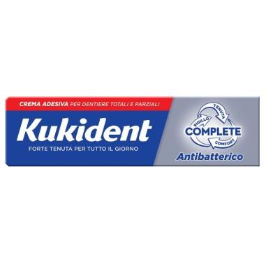 Crema Adesiva per Dentiere Kukident Complete Antibatterico