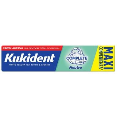Crema Adesiva per Dentiere Kukident Complete Neutro - Maxi Convenienza