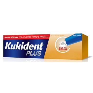 Crema Adesiva per Dentiere Kukident Plus Sigillo