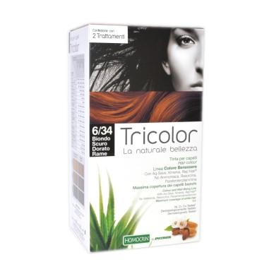Tricolor Tinta per Capelli - Biondo Scuro Dorato Rame 6/34