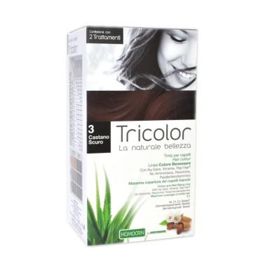 Tricolor Tinta per Capelli - Castano Scuro 3
