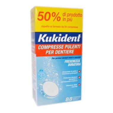 Compresse Pulenti per Dentiere Kukident