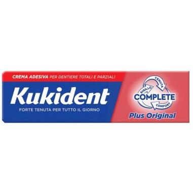 Crema Adesiva per Dentiere Kukident Complete Plus Original