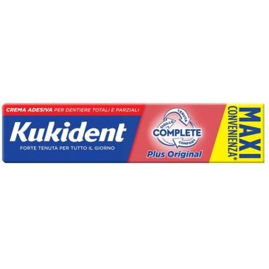 Crema Adesiva per Dentiere Kukident Complete Plus Original - Maxi Convenienza