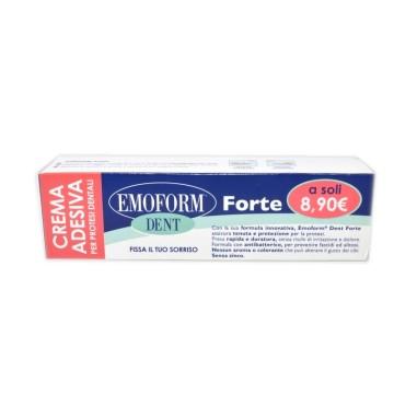 Crema Adesiva per Protesi Dentali Emoform Dent