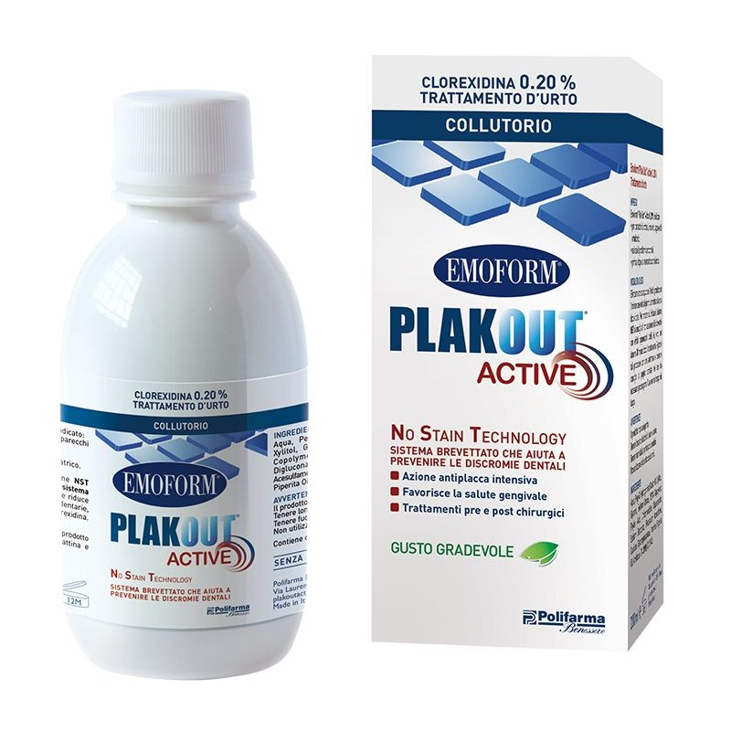 Plak Out Active 0,20% Collutorio