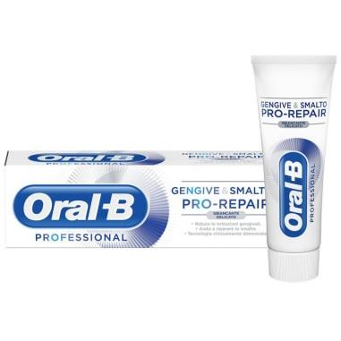 Dentifricio Oral-B Professional Gengive & Smalto Pro-Repair Sbiancante Delicato