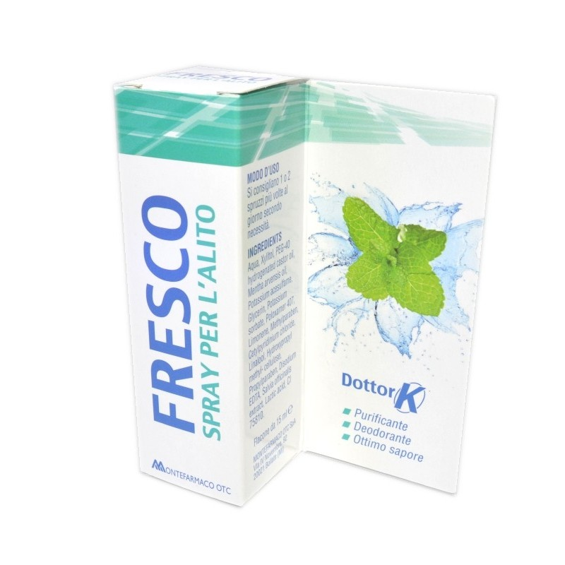 Fresco Spray per l'Alito Dottor K