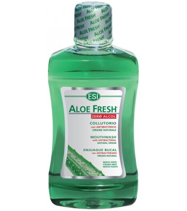 Collutorio Antibatterico Aloe Fresh Zero Alcol