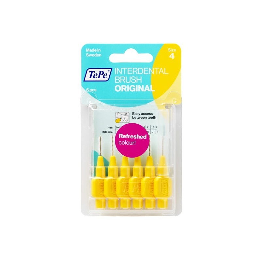 Scovolino TePe Originale Giallo - misura ISO 4