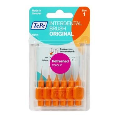 Scovolino TePe Originale Arancione - misura ISO 1
