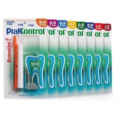Plakkontrol Scovolino Giallo 0,7 mm