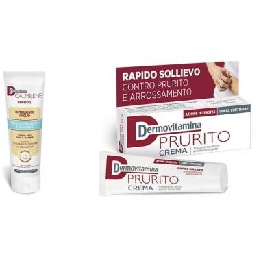 Calmilene Sensioil Detergente in Olio + Prurito Crema Dermovitamina
