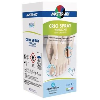 Crioline Spray Verruche Master-Aid