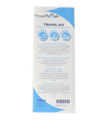 Travel Kit Igiene Orale Neo Emoform