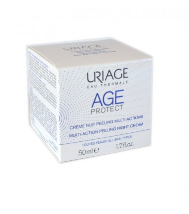 Crema Notte Peeling Multiazione Age Protect Uriage