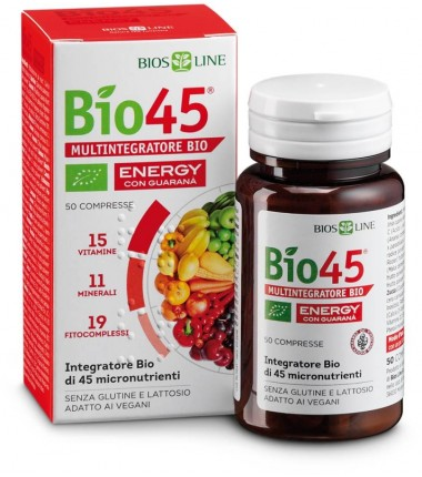 Bio45 Energy con Guaranà Bios Line