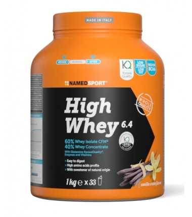 HIGH WHEY Vanilla Cream