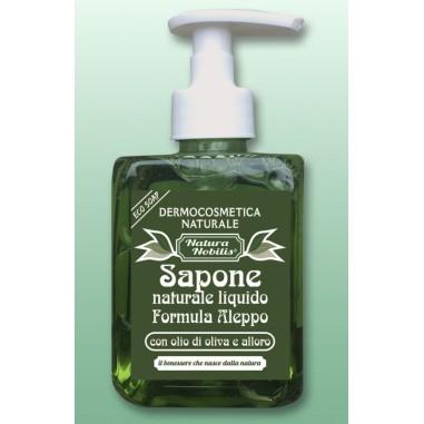 Sapone Naturale Liquido Formula Aleppo
