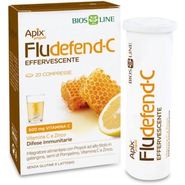 Fludefend-C Effervescente Apix Propoli