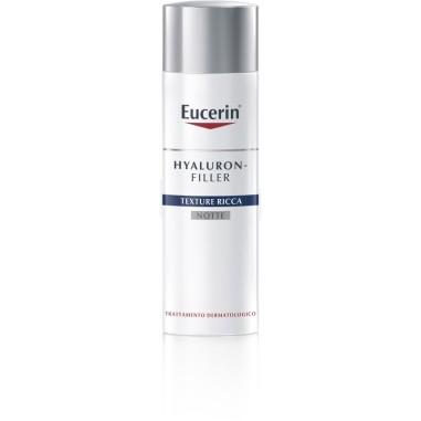 Texture Ricca Notte Pelle Molto Secca Hyaluron-Filler Eucerin