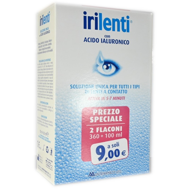 Irilenti con  Acido Ialuronico