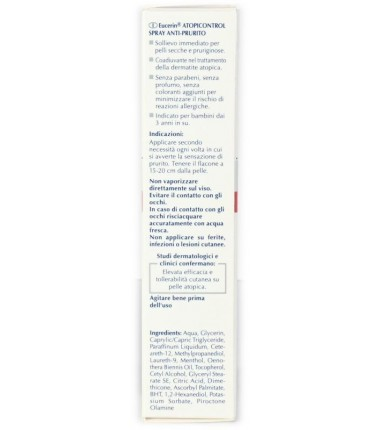 Spray Anti-Prurito AtopiControl Eucerin