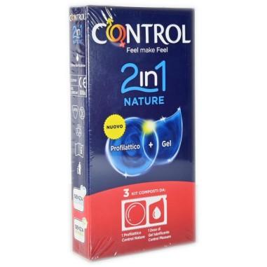 Preservativo 2 in 1 Nature Control