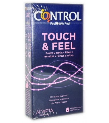 Preservativo Touch & Feel Control