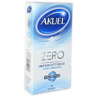 Preservativo Zero Impercettibile Extra Lubrificato Akuel