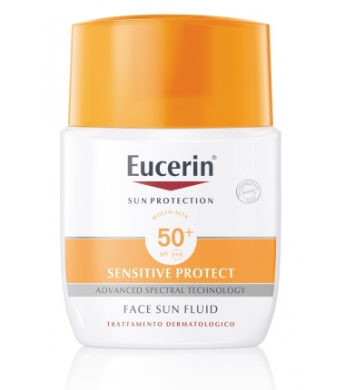 Sensitive Protect Face Sun Fluid SPF 50+