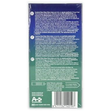 Preservativo Non Stop Xtra Lines Control