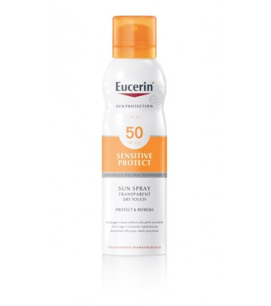 Sensitive Protect Sun Spray Transparent Dry Touch SFP 50