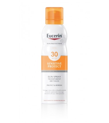 Sensitive Protect Sun Spray Transparent Dry Touch SPF 30