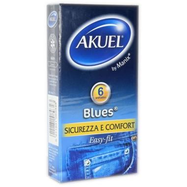 Preservativo Blues Akuel
