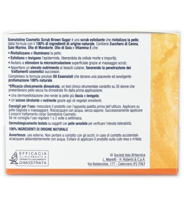 Scrub Brown Sugar Somatoline Cosmetic