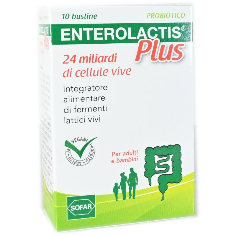 Enterolactis Plus Bustine
