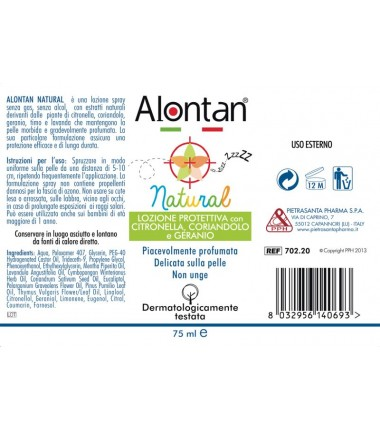 Spray Natural Alontan