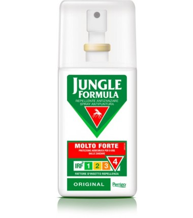 Repellente Antizanzare Spray Molto Forte Jungle Formula