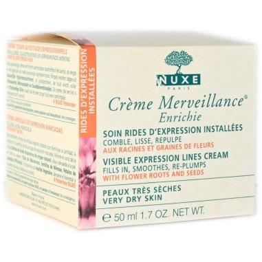 Crema Segni d\'Espressione Marcati Crème Merveillance Enrichie Nuxe