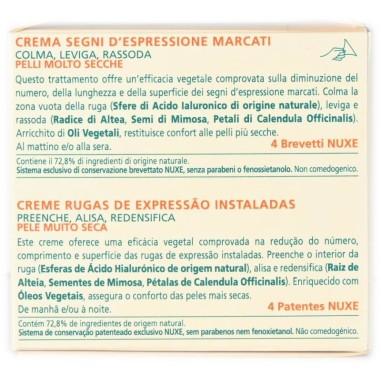 Crema Segni d'Espressione Marcati Crème Merveillance Enrichie Nuxe