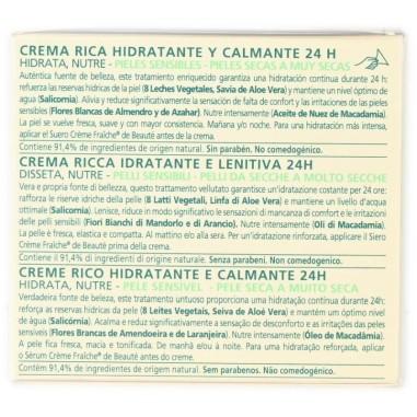 Crema Ricca Idratante e Lenitiva Crème Fraîche de Beauté Nuxe